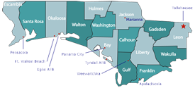 florida panhandle